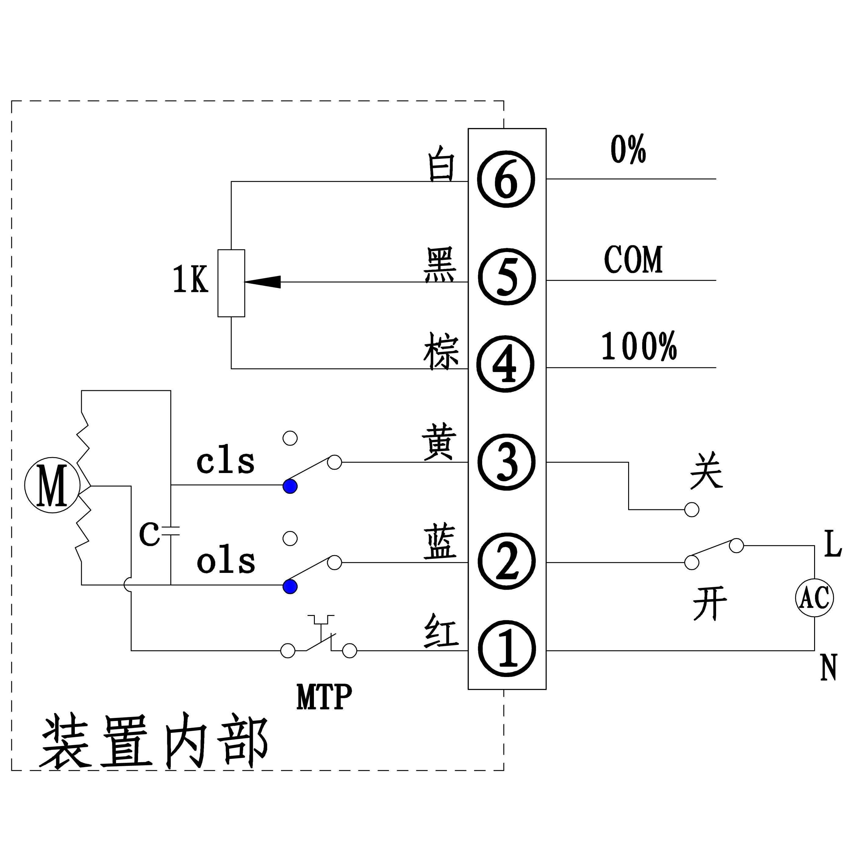 产品中心 电动阀门执行器(hl型)